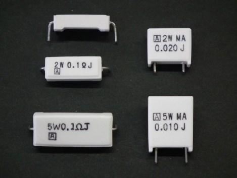 CBR 電流検出用ブレード抵抗器