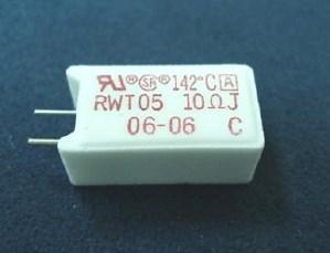 RWT05A 温度ヒューズ内蔵セメント抵抗器